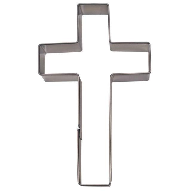 Ausstecher Ausstechform Kreuz 7 cm [Kirche] neu G2