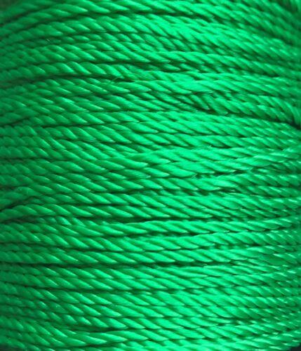 fuerte Seda de Polipropileno Colores Brillantes Jardín multi propósito Cuerdas 0,5m-10m