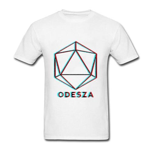 Men/'s Odesza dire mon nom Logo Noir T Shirt