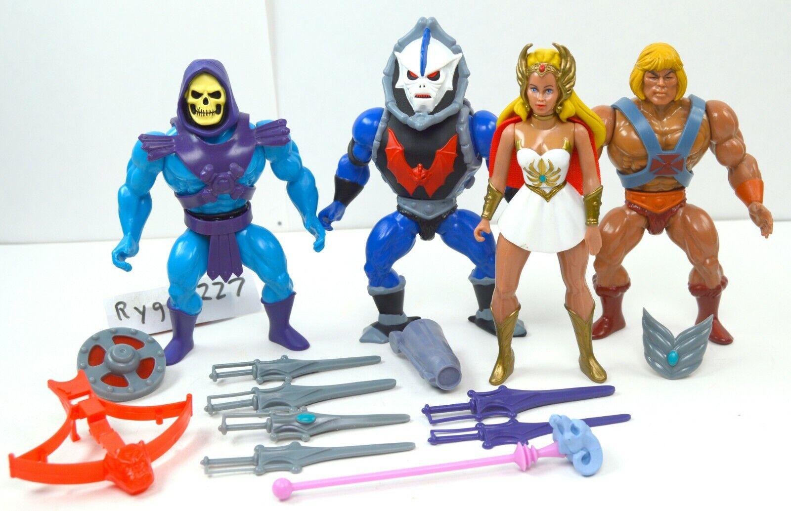 MOTU, He-Man Lot Filmation Style, Masters of the Universe, Super7, figure, set
