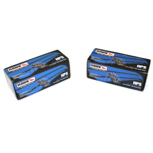 Scion FR-S//Toyota GT-86 HB711F.661//HB671F.628 Hawk HPS Brake Pads Front+Rear 13