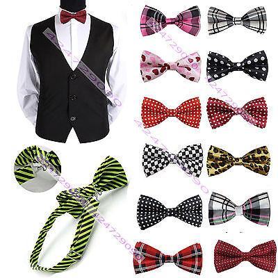 Casual Adjustable Men's Unique Bowtie Tuxedo Party Bow Tie Necktie Tie YJB0002