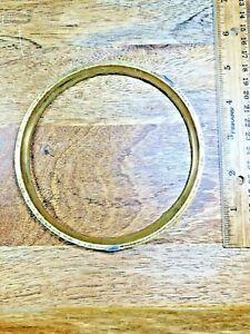 """Clock Dial Trim Ring (5.14"""" Outer  Diameter and 4.59"""" Inner Diameter) (K1946)"""