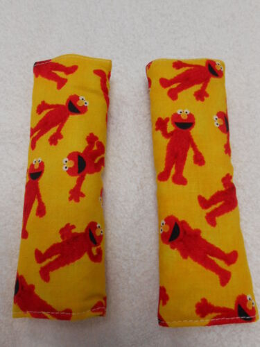 Seat Belt Covers Elmo Dance Yellow Child Car Seat Highchair Stroller Pram