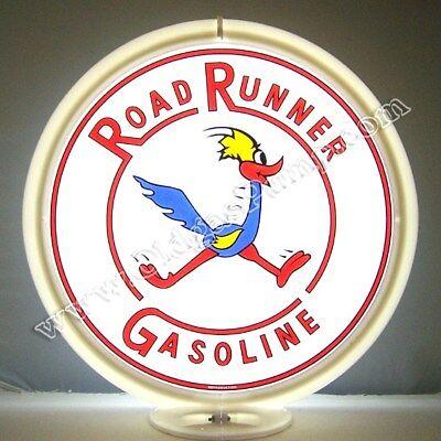 "Road Runner 13.5/"" Gas Pump Globe w// Yellow Plastic Body G173"