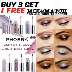 PHOERA Magnificent Metals Eyeshadow Glitter Liquid metallic Shimmer Eye Liner