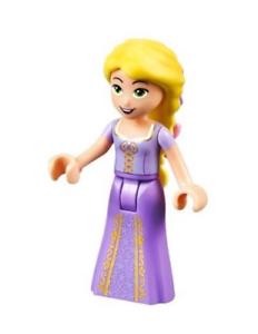 Lego-Rapunzel-41065-with-2-Flowers-in-Hair-Disney-Princess-Minifigure