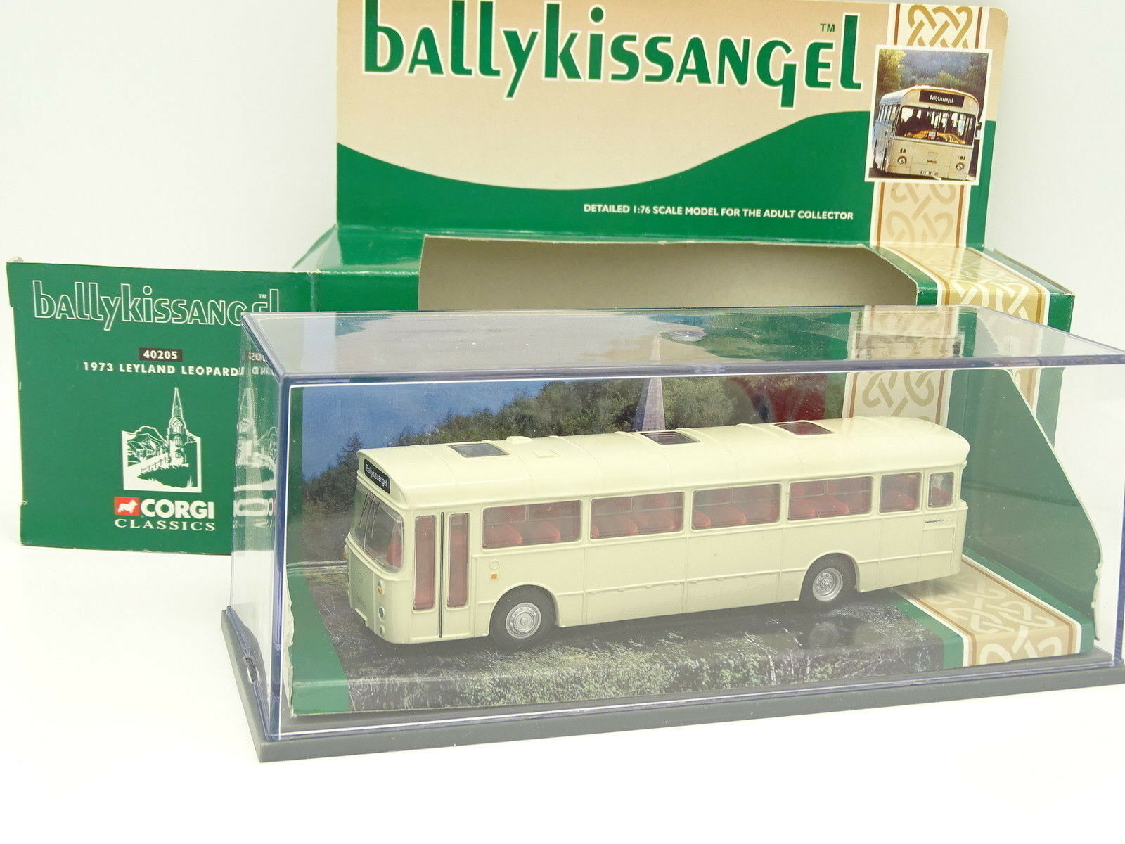 Corgi 1 76 - Bus Autobus Leyland Leopard BallyKissangel