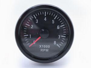 52mm-0-8000-RPM-On-dash-Mechanical-Tachometer-Gauge-for-Petrol-Motor-Engine
