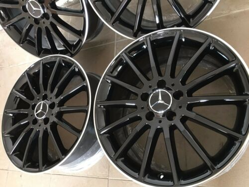 "AMG Performance Cerchioni Nero 18 /"" Mercedes W246 W117 Shootingbrake W176 a B"