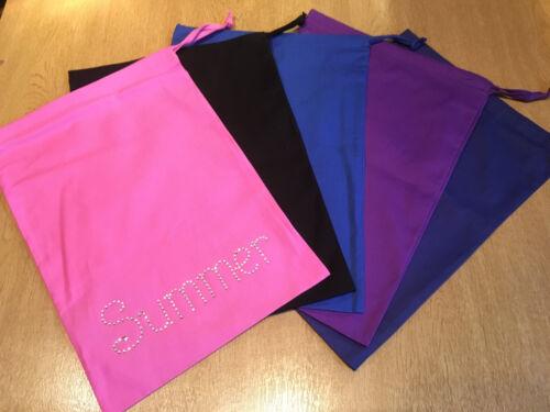 PERSONALISED Drawstring bag for GYMNASTICS DANCE handguards drinks shoes chalk