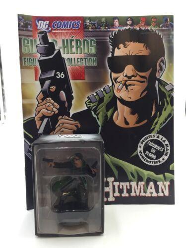 figurine plomb dc Comics hitman n36 fascicule+boite eaglemoss état neuf