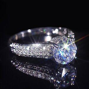 Design Ring Swarovski Elements 925 Sterling Silber Damen Ring