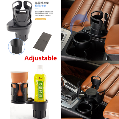Universal 1Pcs Rotatable Car Cup Holder Cell Phone Sunglasses Stand Accessories