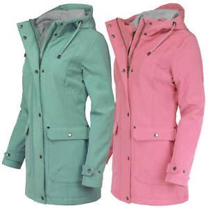 more photos 7146e fda8a Details zu 50% OFF ODYSSEE Damen Softshell Jacke Mantel Parka Kapuze Fleece  Outdoor Sale