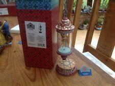 "rare disney tradition 'tinkerbell shining sprite lantern' boxed/working 11.5"""