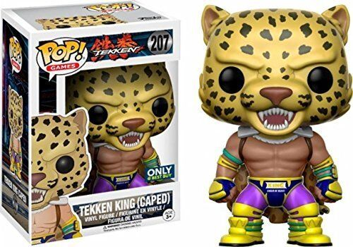 FUNKO POP Tekken - King Caped limitierte Auflage