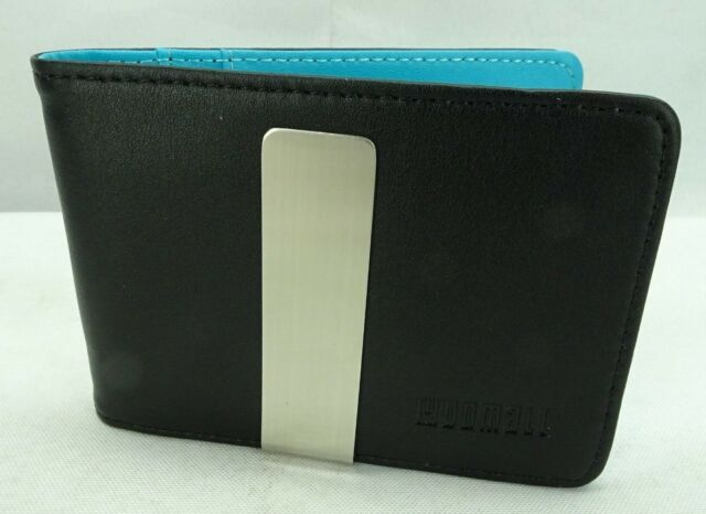 YOOMALL Slim Money Clip Wallets for Men Front Pocket Wallet Card Holder black /&