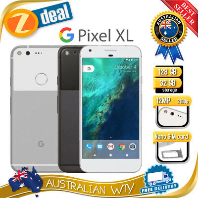 (AU STOCK) GOOGLE PIXEL XL 32GB 128GB UNLOCKED PHONE (EX-LEASE)