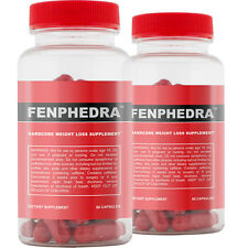 Fenphedra 2 Pack - Best Diet Pills for Hardcore Fat Loss and Faster Metabolism