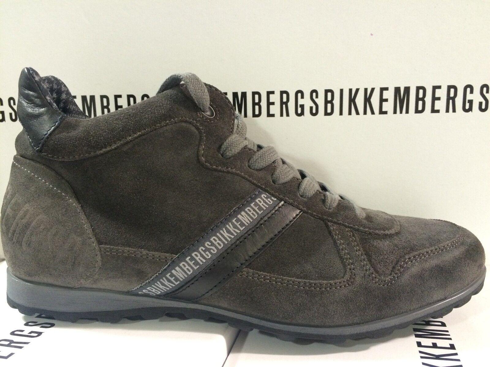 Dirk Bikkembergs Uomo Shoes Scarpe da New Ginnastica Boots Suede Trainers BKE107366 - New da In Box 799048