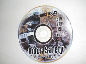 ARCTIC-CAT-TRV-150-RIDER-SAFETY-DVD-TRAINING-VIDEO-ALTERRA-90-DVX90-YOUTH