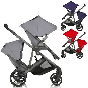 Britax-B-Ready-Tandem-Double-Twin-2-Seat-Baby-Buggy-Pushchair-Stroller-Pram-NEW