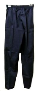 PRN 1067 Elastic Waist Uniform Navy Small Nursing Scrub