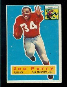 1956-Topps-Football-Card-110-Joe-Perry-San-Francisco-49er-039-s-EX