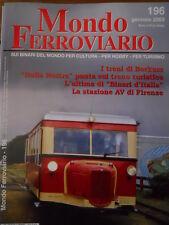 Mondo Ferroviario n°196 L - Treni di Borkum - stazione AV di Firenze - ALn 772 A