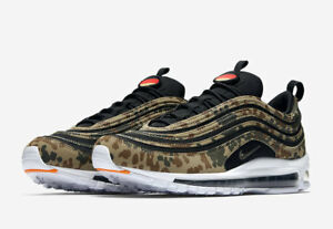 2018 Nike Air Max 97 County Camo Germany size 13. AJ2614-204. black ... 390d70d75cea