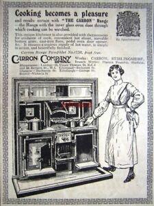 039-The-CARRON-039-Kitchen-Cooking-Range-ADVERT-Original-Small-1924-Print-AD