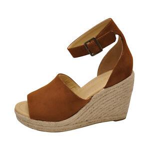 6f7cc85eb6d Details about City Classified JOY Hazel Women's Platform Wedge Espadrille  Sandals