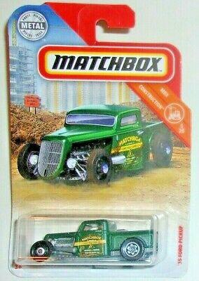 Matchbox /'35 Ford Pickup #051 MBX Highway Blue VHTF!!
