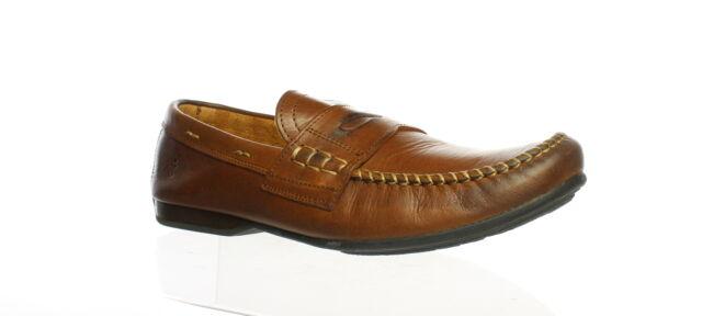 Frye Mens Lewis Penny Cognac Soft Vintage Leather - 80267 ...