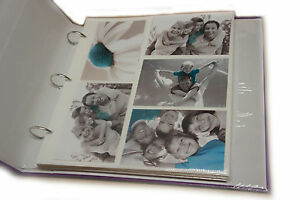 20-Recharge-Drap-Peut-Contenir-200-Photos-Pour-Grand-6x4-Classeur-A-Anneaux