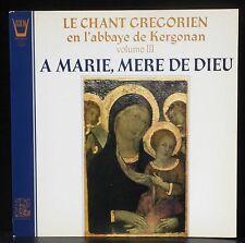 A Marie, mère de Dieu abbaye de Kergonan  Dom Le Feuvre LP & CV EX