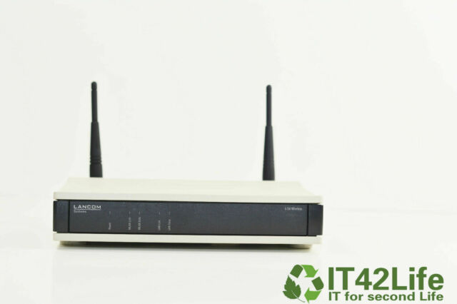 LANCOM L-54g Wireless Access Point 2,4 GHz 54/108 Mbit/s 802.11b/g DSL-Router