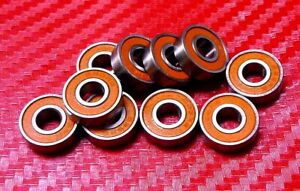 [QTY 10] S688-2RS (8x16x5 mm) CERAMIC 440c Stainless Steel Ball Bearing 688RS