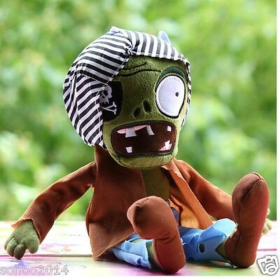 1pcs Pirate Zombies Plants vs Zombies Soft Plush Toys baby doll Children Gift
