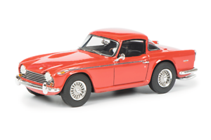 Triumph TR5 Red Resin Model in 1 43 Scale by Schuco