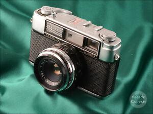 SALE-Yashica-Minister-II-45mm-f2-8-Film-Camera-8295