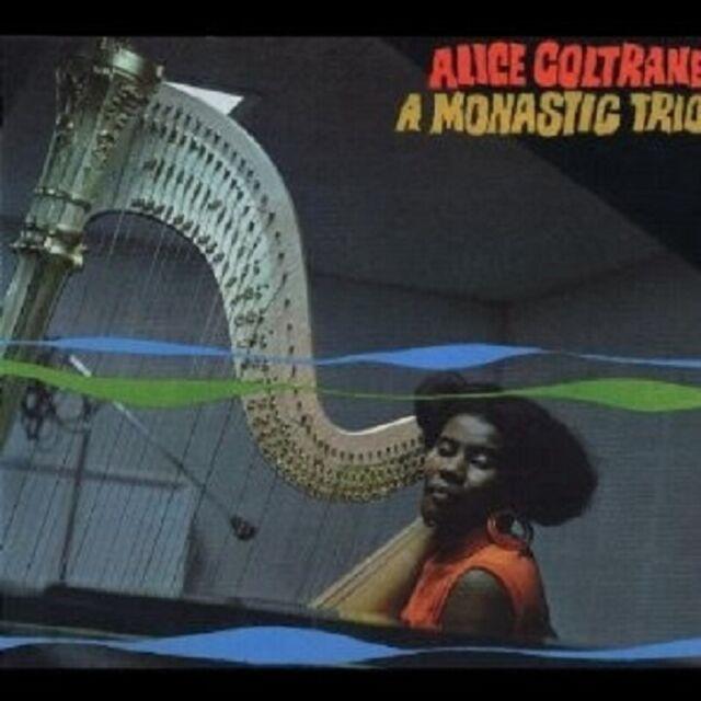 """ALICE COLTRANE """"A MONASTIC TRIO"""" CD NEU"""