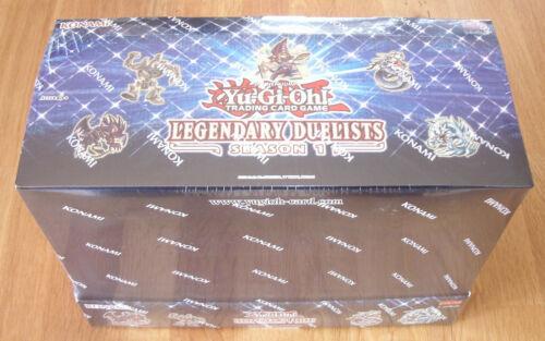 Yu-Gi-Oh Display Legendary Duelists : Season 1 Deutsch NEU /& OVP