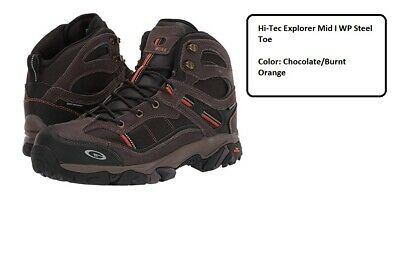 Hi-Tec Explorer Mid I WP Steel Toe | eBay