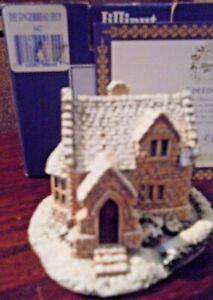 LILLIPUT-LANE-642-THE-GINGERBREAD-SHOP-GLOUCESTERSHIRE-WITH-BOX-amp-DEEDS