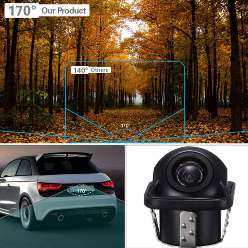 D397 480P Parking Camera Rearview 120° Car Rear Camera IP67 Angle