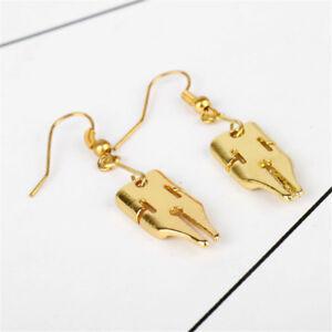 JoJo-039-s-Bizarre-Adventure-Kishibe-Rohan-Golden-Earrings-Ear-Stud-Dangle-Cosplay