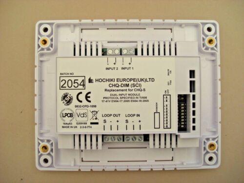 SCI £24 Hochiki Dual Input Module CHQ-DIM