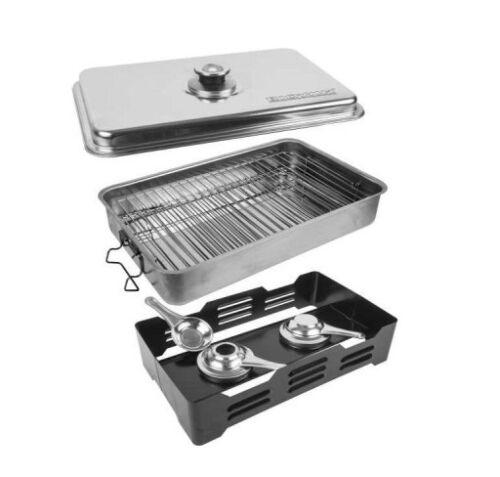 Portable Smoker Kit-Fumoir avec thermomètre et fruits de copeaux de bois 330010